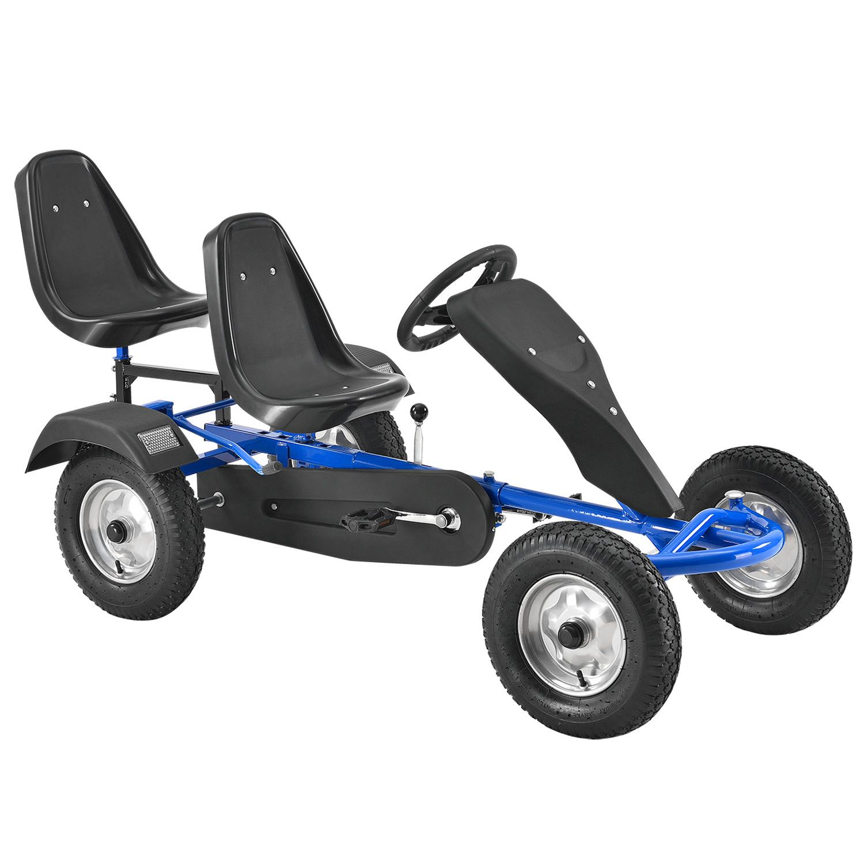 2-Sitz Go-Kart Rennkart Kart Tretauto Gocart Kinderfahrzeug Kinder ...