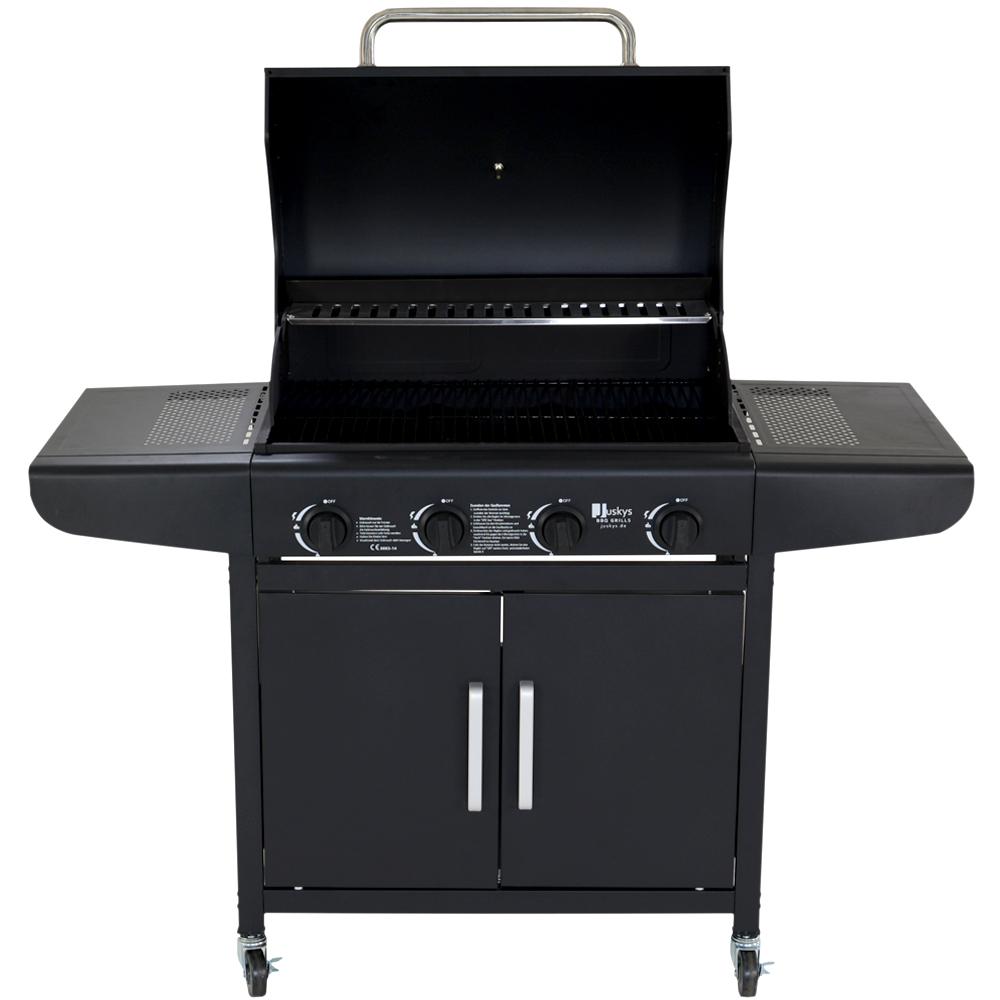 gasgrill bbq gas grill barbecue grillwagen edelstahl. Black Bedroom Furniture Sets. Home Design Ideas