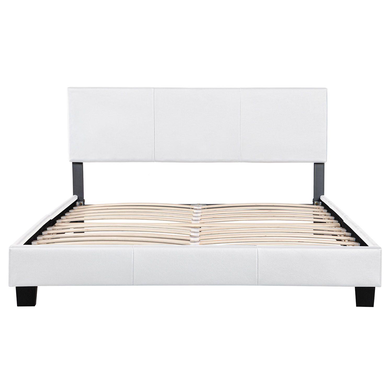 Polsterbett Doppelbett Design Bettgestell Bettrahmen mit Lattenrost ...