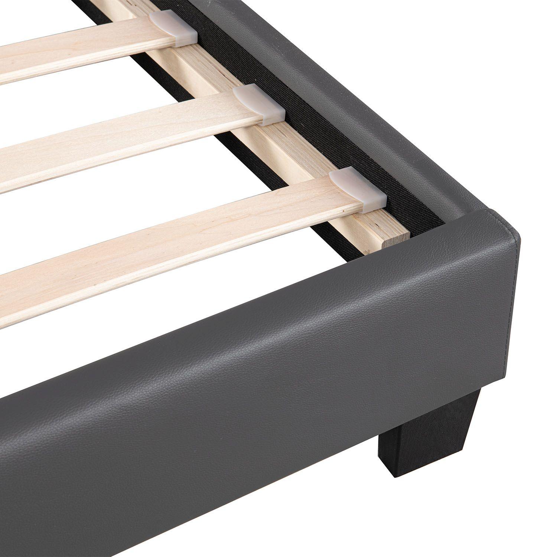 polsterbett doppelbett design bettgestell bettrahmen mit. Black Bedroom Furniture Sets. Home Design Ideas