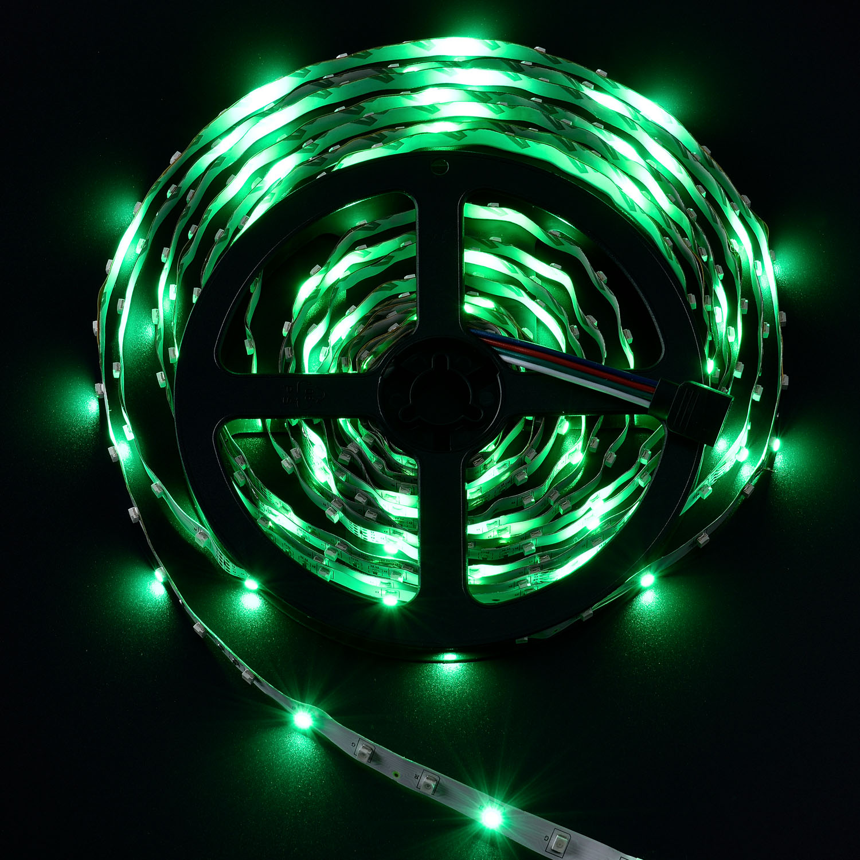 Led Streifen 5m Lichterkette Beleuchtung Partylicht Rgb