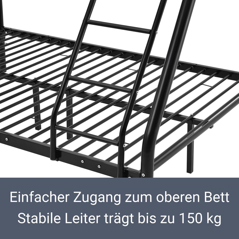 Etagenbett Aus Metall. Zearo Kinderbett Etagenbett Bett Aus Metall ...