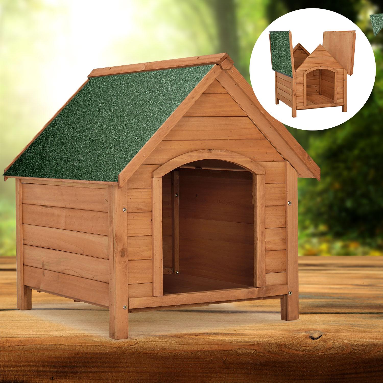hundehütte hundehaus wetterfest dachluke hund hundehöhle klappbares