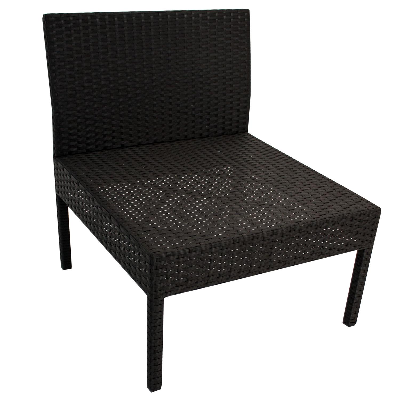 polyrattan gartenm bel ecksofa lounge rattan sitzgruppe. Black Bedroom Furniture Sets. Home Design Ideas
