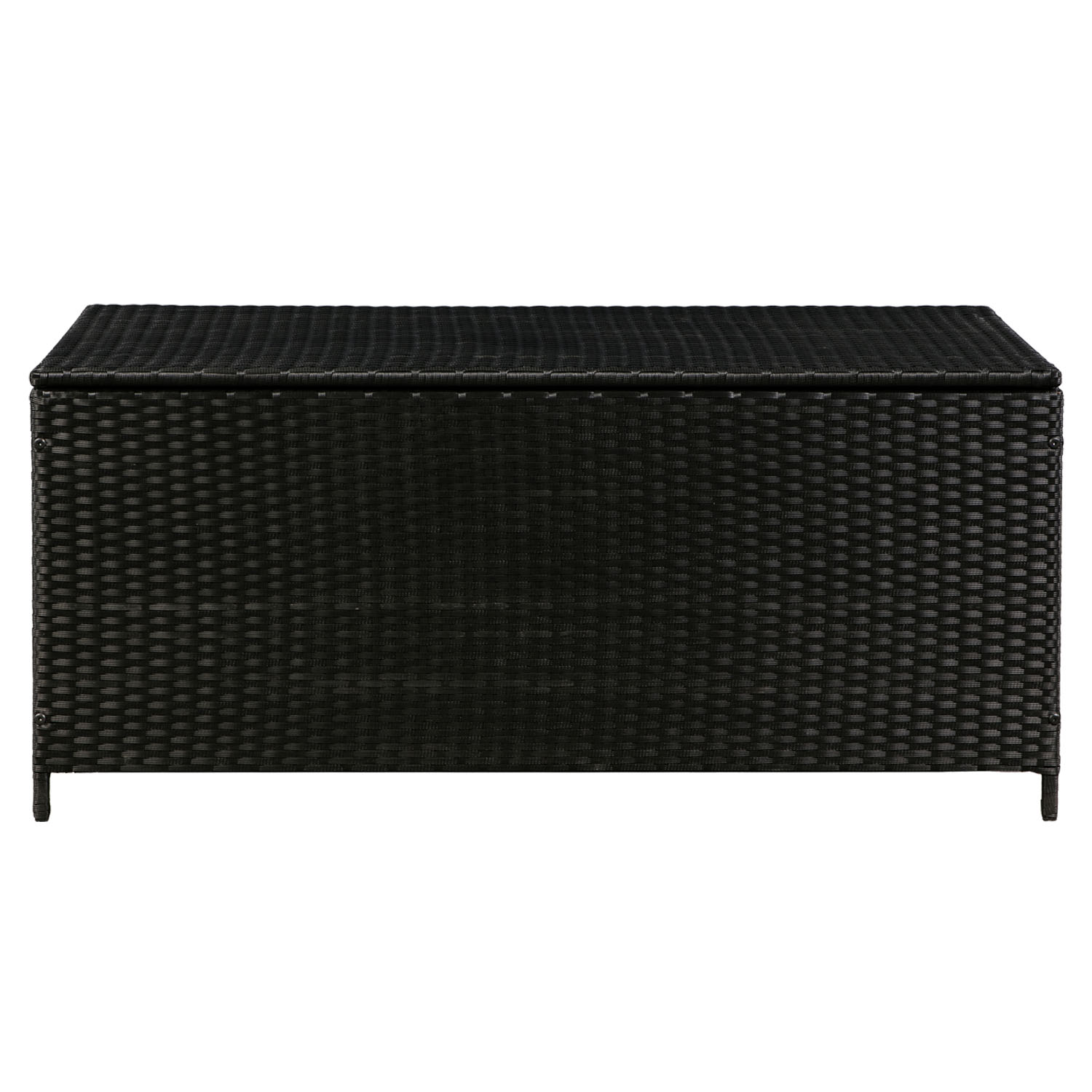 auflagenbox polyrattan kissenbox gartenbox gartentruhe kiste aufbewahrungsbox ebay. Black Bedroom Furniture Sets. Home Design Ideas