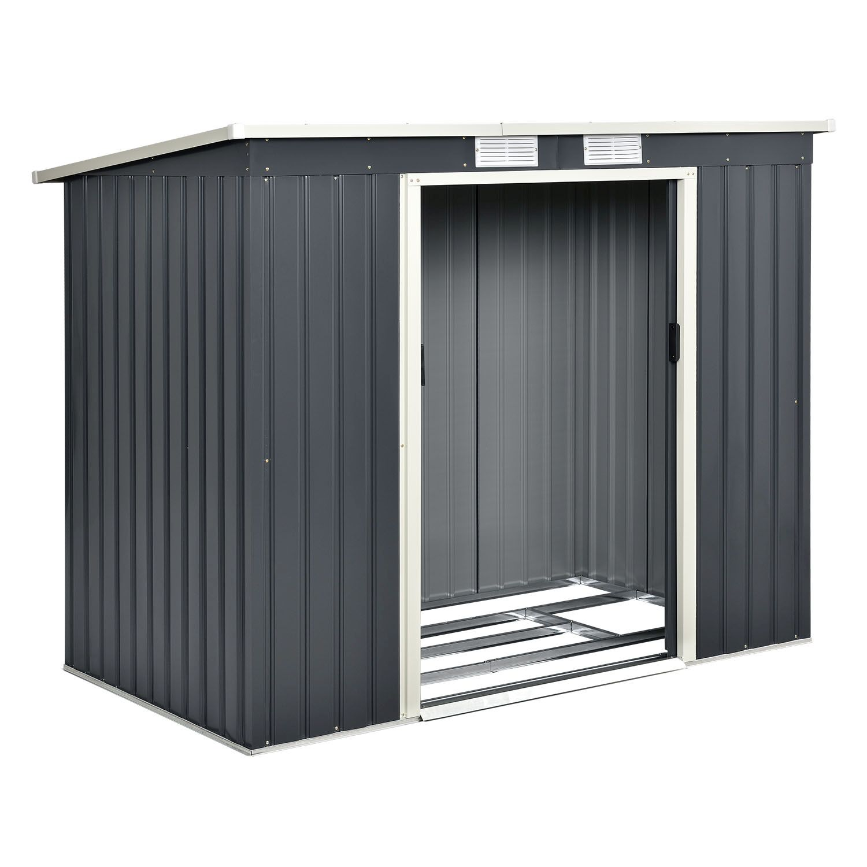 ger tehaus ger teschuppen schuppen pultdach schuppen gartenhaus fundament neu ebay. Black Bedroom Furniture Sets. Home Design Ideas