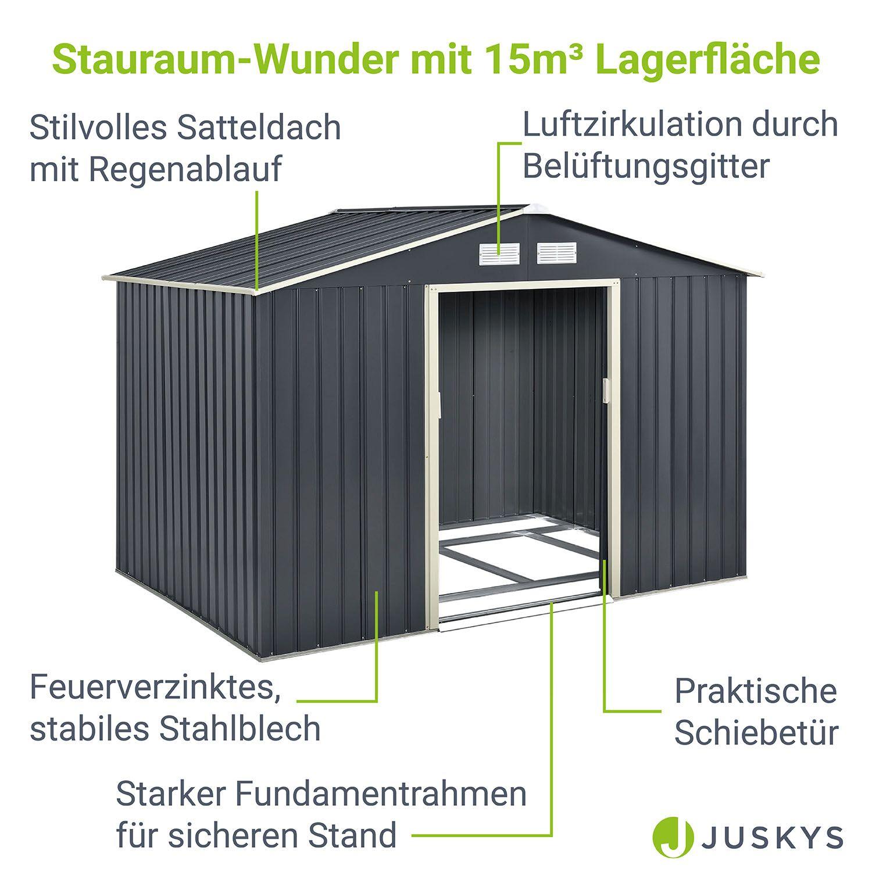 ger tehaus ger teschuppen satteldach schuppen metall gartenhaus fundament neu ebay. Black Bedroom Furniture Sets. Home Design Ideas
