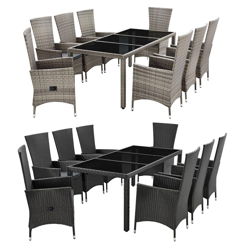 Polyrattan Essgruppe Gartenmobel Set Sitzgruppe Essgruppe Gartenset Juskys Ebay